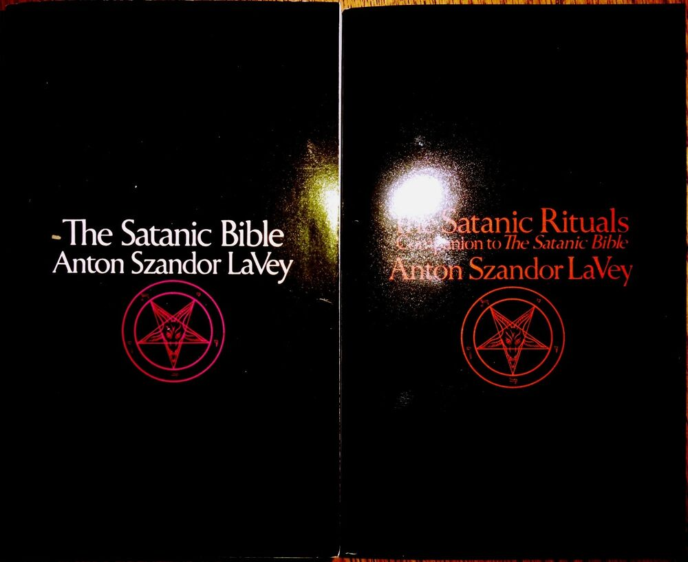 satanic bible Called the black pope by many of his followers, anton la vey began the road  to high priesthood of the church of satan when he was only 16 years old and.