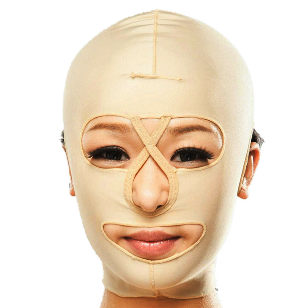 Face Mask: Face Treatment Mask Wrinkles Saggy Neck Chin Instant