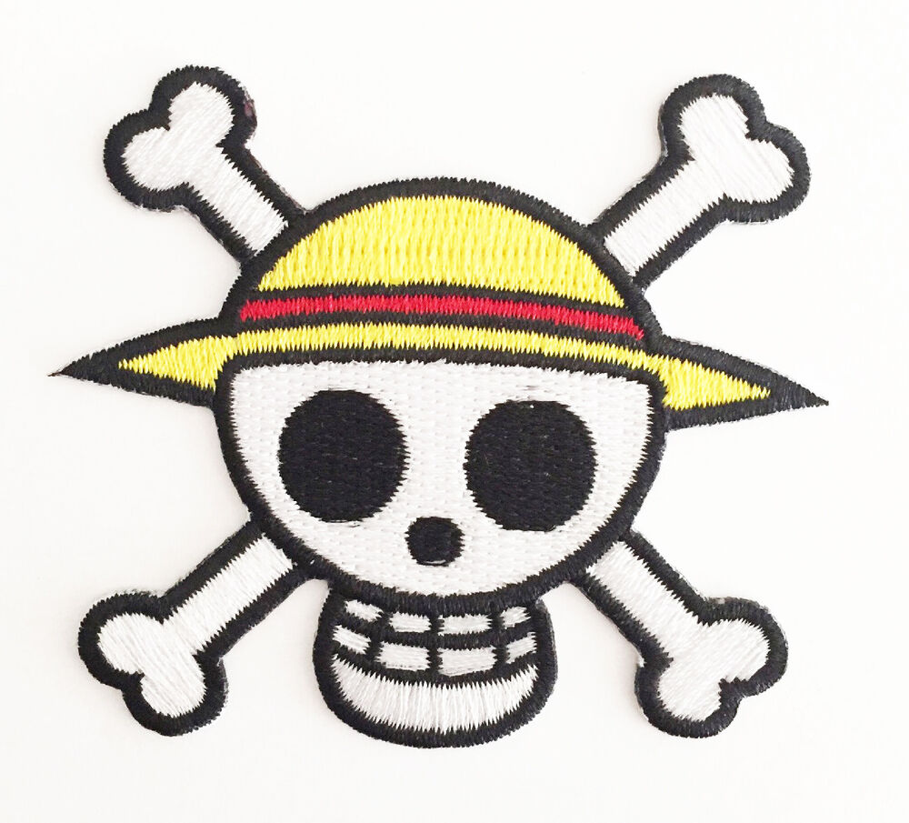 **Legit** One Piece Luffy Straw Hat Pirate Jolly Roger ... Official One Piece Jolly Rogers