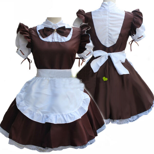 anime cute maid outfits: Halloween Cat Maid Outfit Cosplay Lolita Fancy Costume