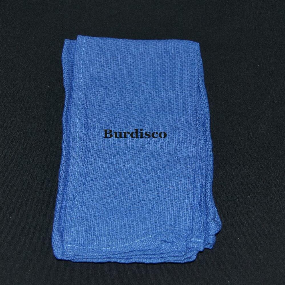 New Blue Huck Surgical Towels In A Bag Of 10 Lint Free