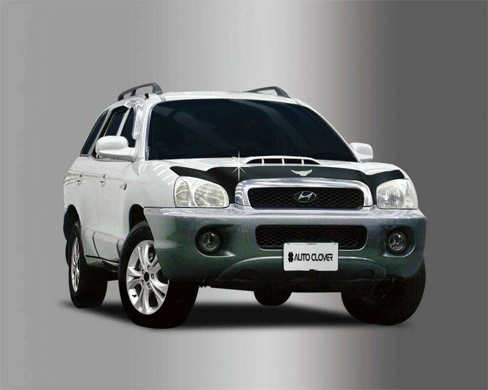 for hyundai santa fe 2001 2006 bonnet guard protector ebay. Black Bedroom Furniture Sets. Home Design Ideas