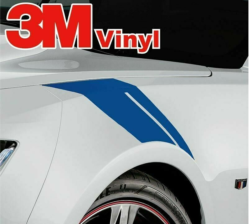 Mustang Decals And Stripes >> 2016-17 Chevy Camaro Sixth 6th Generation Hash Marks RS SS Decals Stripes Kit | eBay
