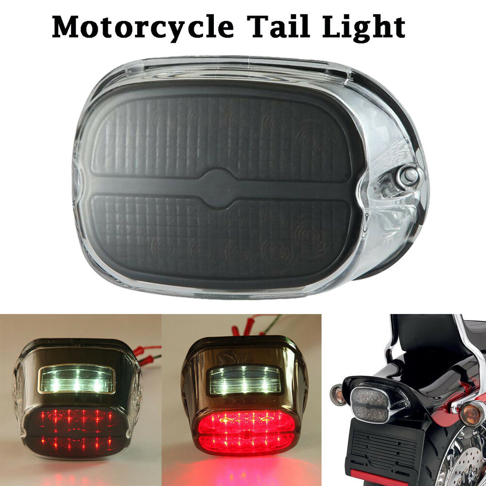 Motorcycle Led Tail Brake Light For Harley Hd Touring Road