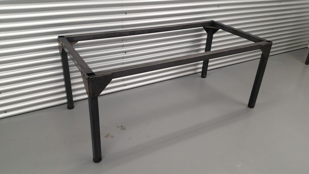Steel Table Frame Base 45x69x28 H Industrial Furniture