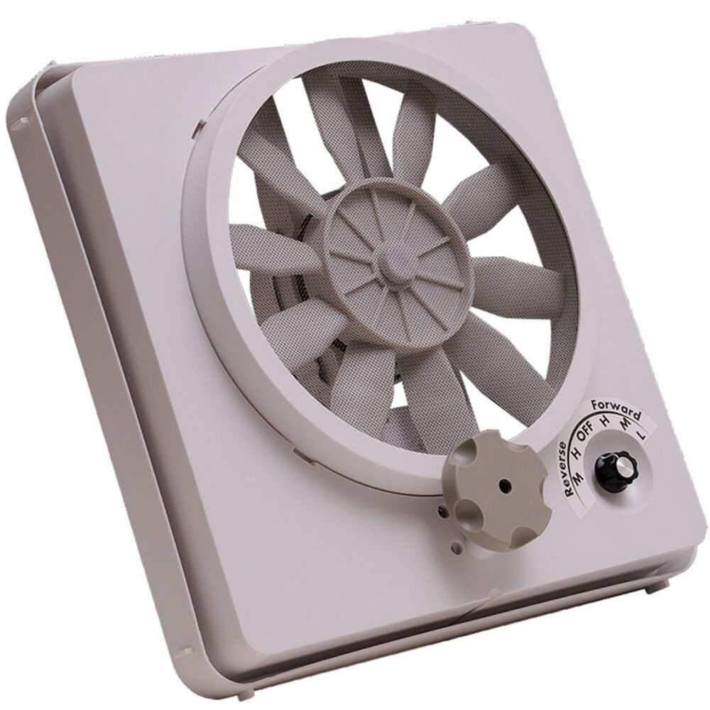 12 Volt Fans For Rv : Rv ceiling fan v volt roof vent multi speed vortex ii