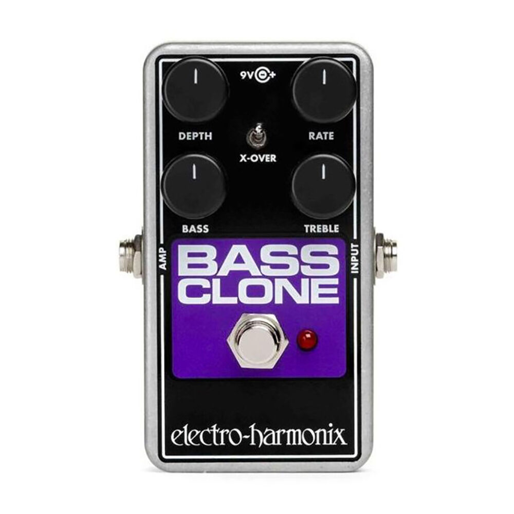 electro harmonix ehx bass clone analog bass chorus guitar effects stompbox pedal ebay. Black Bedroom Furniture Sets. Home Design Ideas