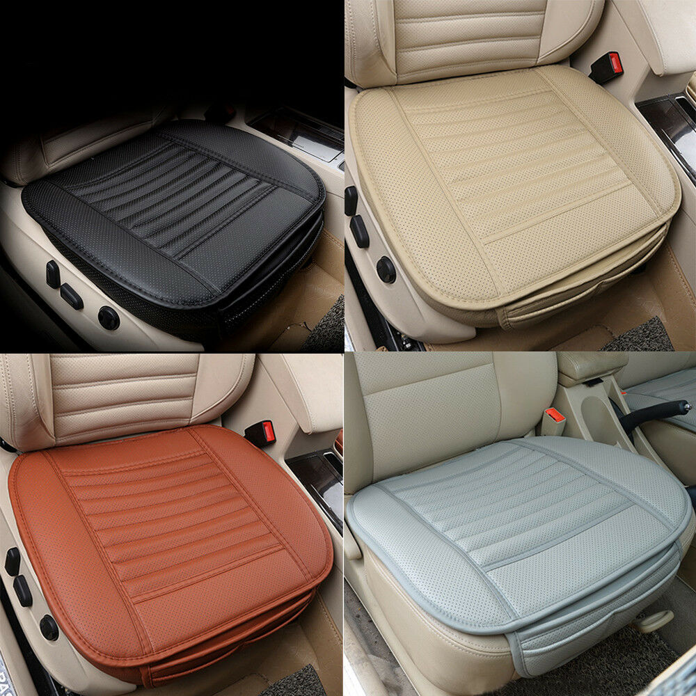 universal pu leather car seat protector mat cover pad breathable cushion 50 53cm ebay. Black Bedroom Furniture Sets. Home Design Ideas