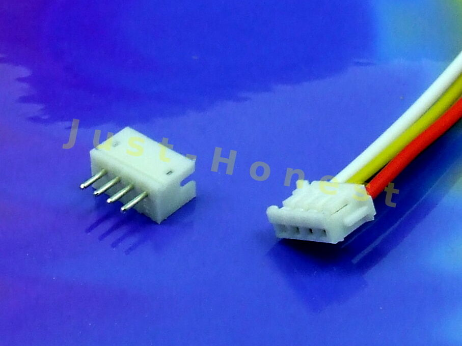 kit buchsenleiste stecker 4 polig header male connector pcb a514 ebay. Black Bedroom Furniture Sets. Home Design Ideas