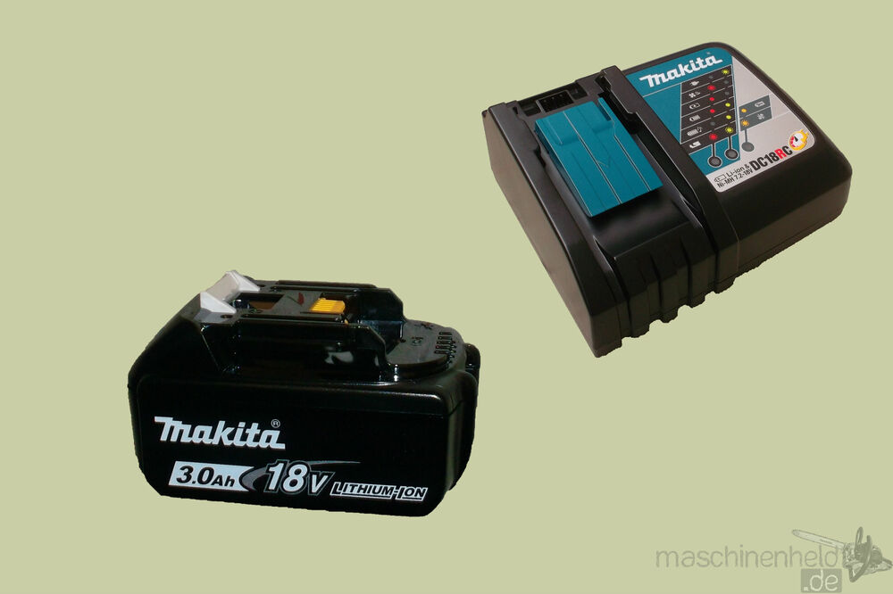makita 18v akku set 1x3 0ah bl1830b ladeger t dc18rc power source kit ebay. Black Bedroom Furniture Sets. Home Design Ideas