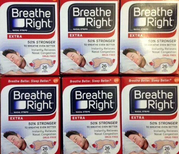 156 Breathe Right Nasal Strips Extra Size Nose Band Stop