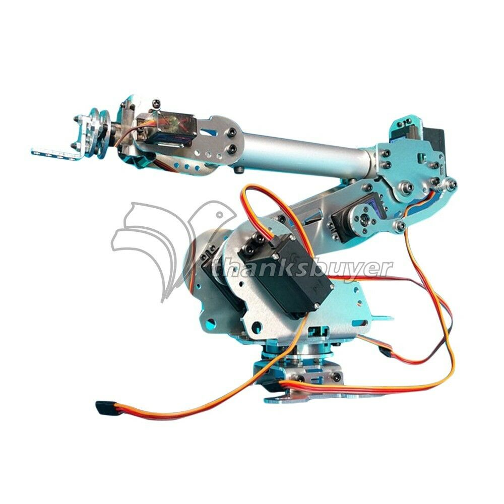 Dof mechanical robot arm claw with servos for robotics
