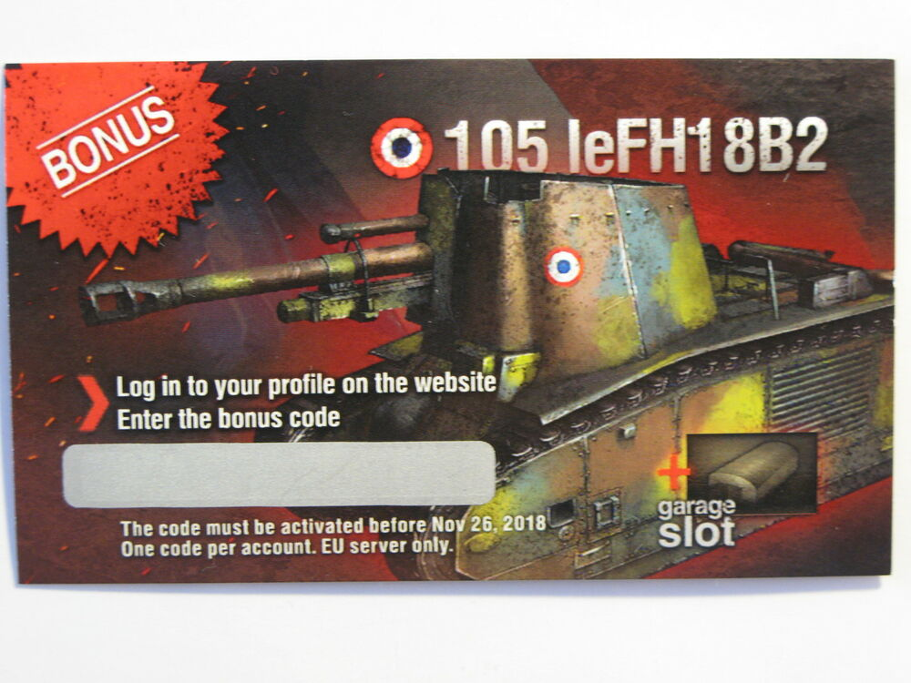 Wot Bonus Codes And Tanks - Www imagez co
