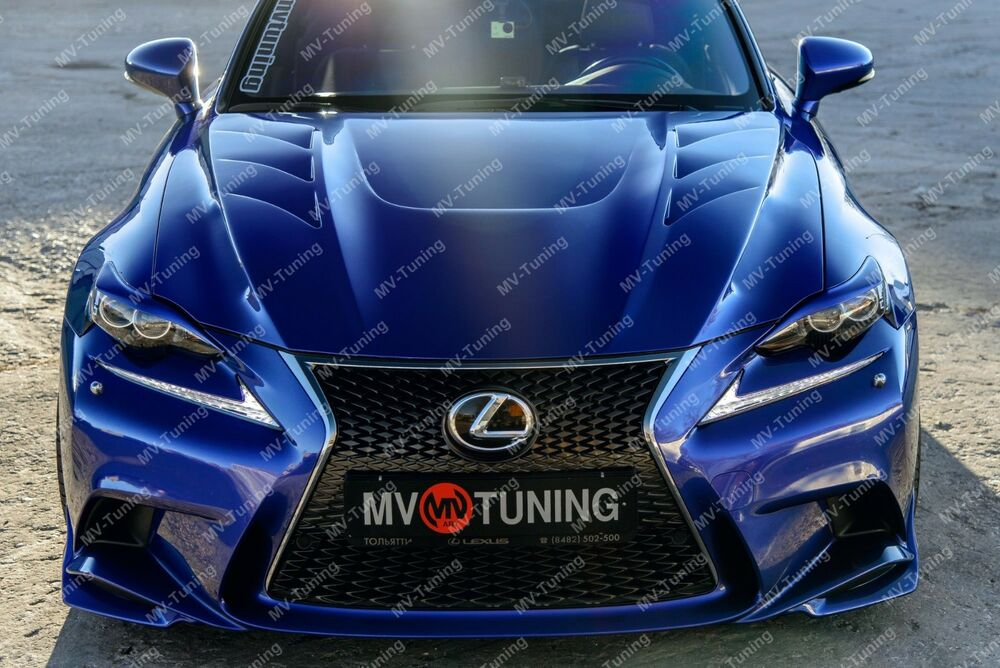 mv tuning hood bonnet sport for lexus is iii generation. Black Bedroom Furniture Sets. Home Design Ideas