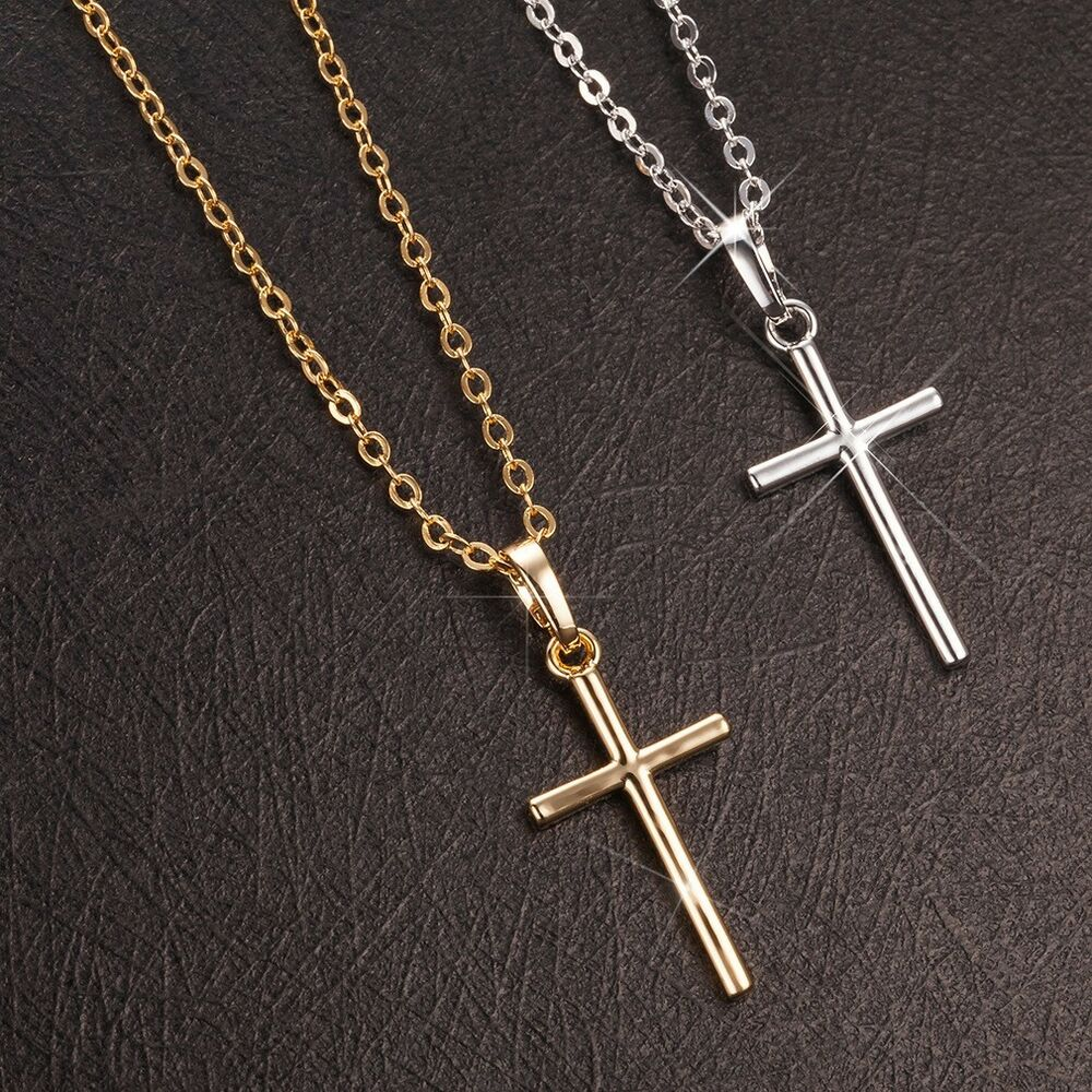 women 39 s cross pendant 18k gold filled jewelry unique rings. Black Bedroom Furniture Sets. Home Design Ideas