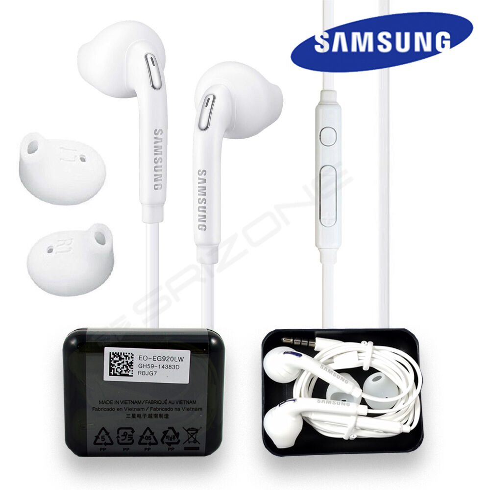 Genuine Samsung Headset Earphones Headphone Earbuds For Galaxy J7 J5 J3 Amp On5