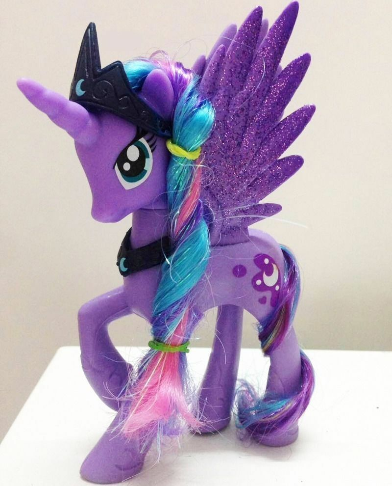 14cm Moon Princess Luna My Little Pony Doll Action Figure ...