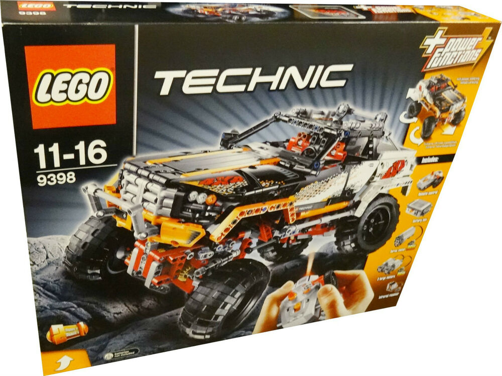 lego 9398 technic 4x4 offroader inkl power functions ir. Black Bedroom Furniture Sets. Home Design Ideas