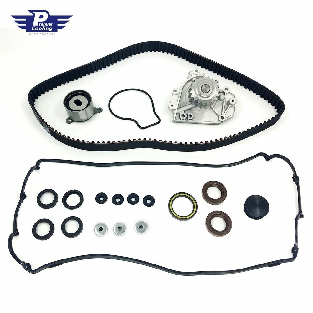 Fit Acura Integra CR-V WP4009 NEW TIMING BELT KIT WATER