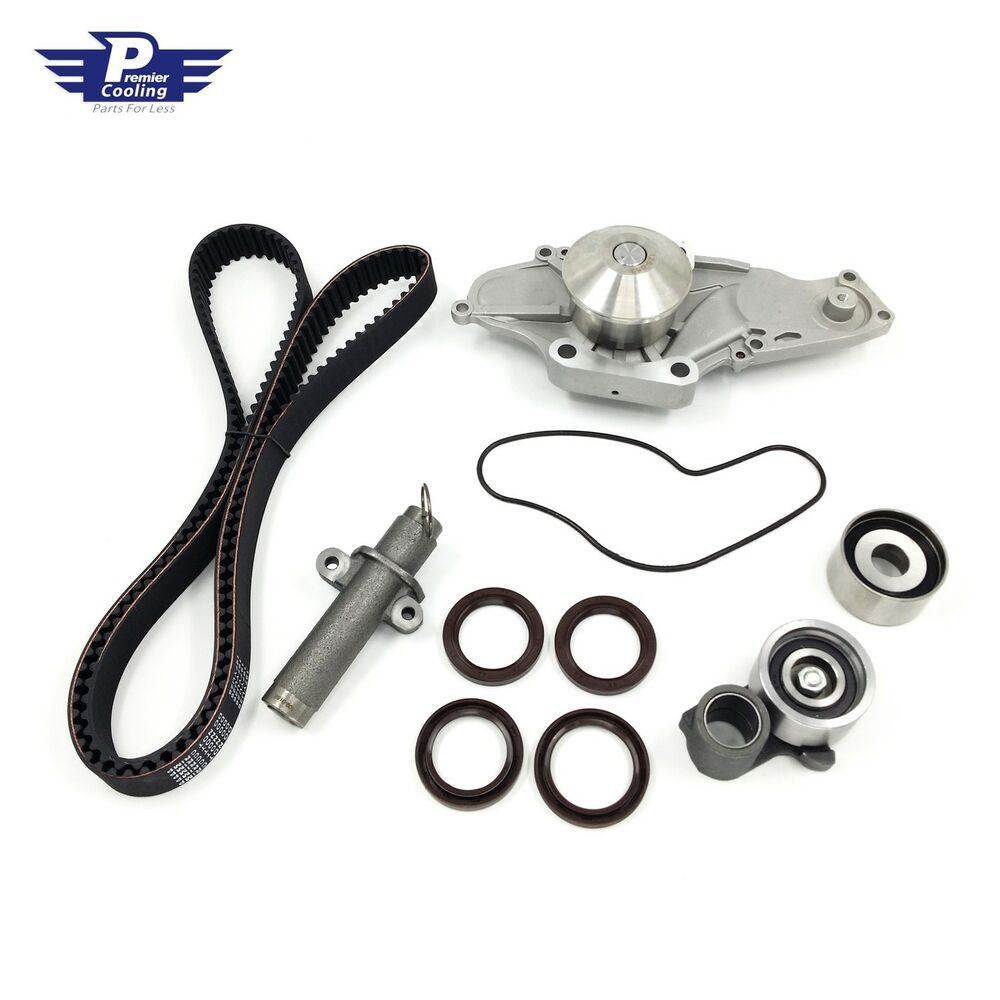 TIMING BELT KIT & WATER PUMP W/ SEALS SET FOR HONDA ACURA