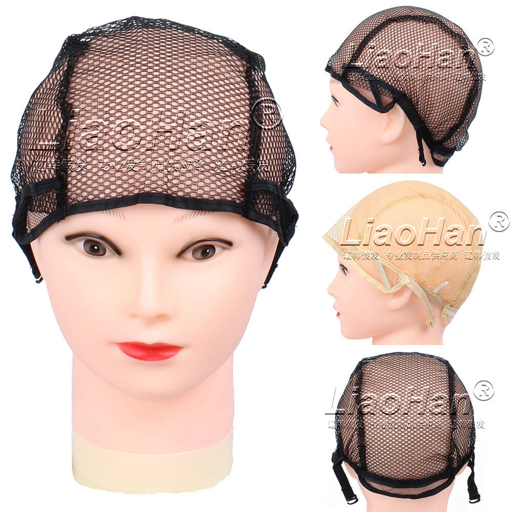 Wig Cap For Making Wigs With Adjustable Straps Breathable