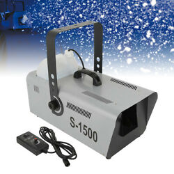 Kyпить TCMT 1500W Snow Maker Snowflake Machine Stage DJ Flake Effect Two Speed Maker на еВаy.соm