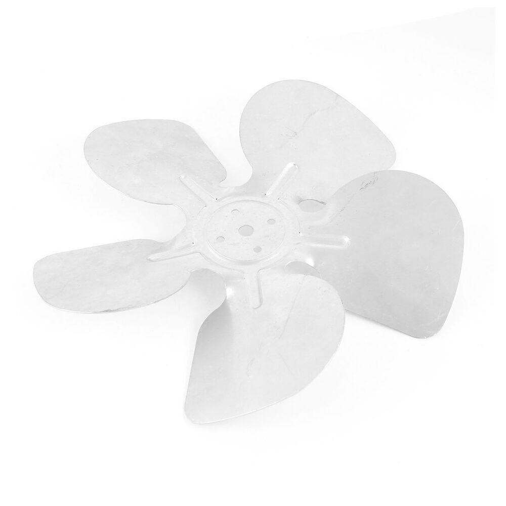 Replacement Metal Fan Blades : Quot shaded pole motor aluminum hubless fan blades