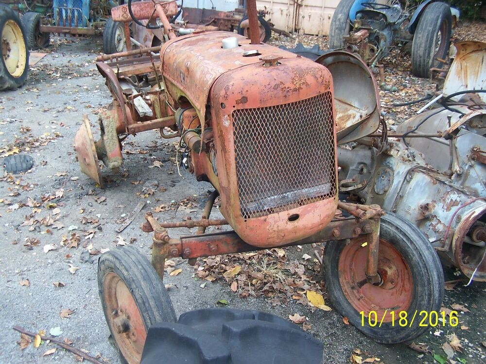 Ac Tractor Parts : Ac allis chalmers b tractor ebay