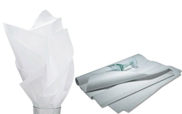 960 Sheets Solid White Tissue Paper 15