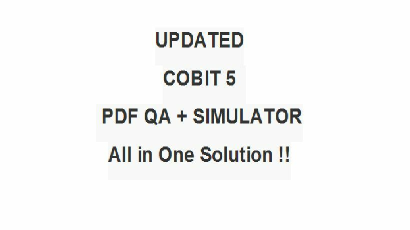 Cobit 5 Foundation Pdf Free Download