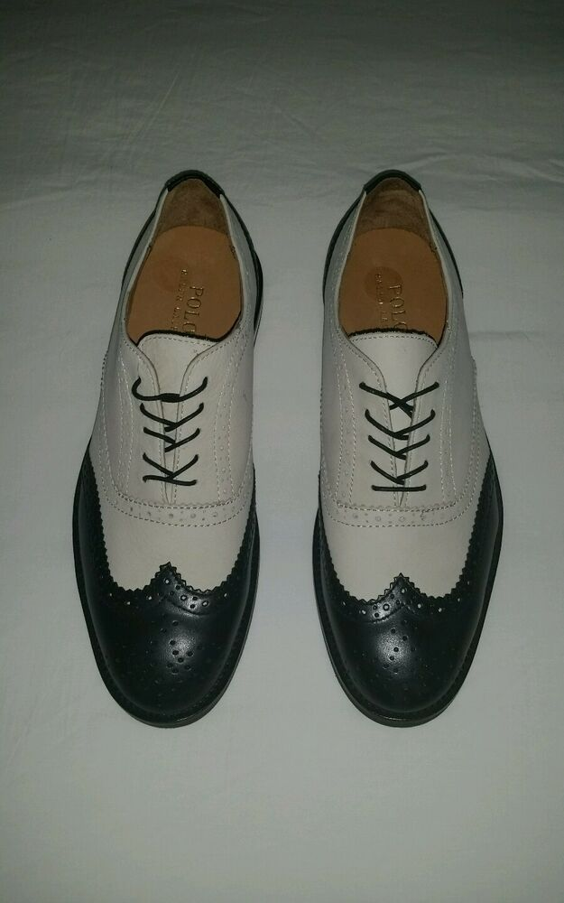 polo ralph s black beige wing tip casual shoes