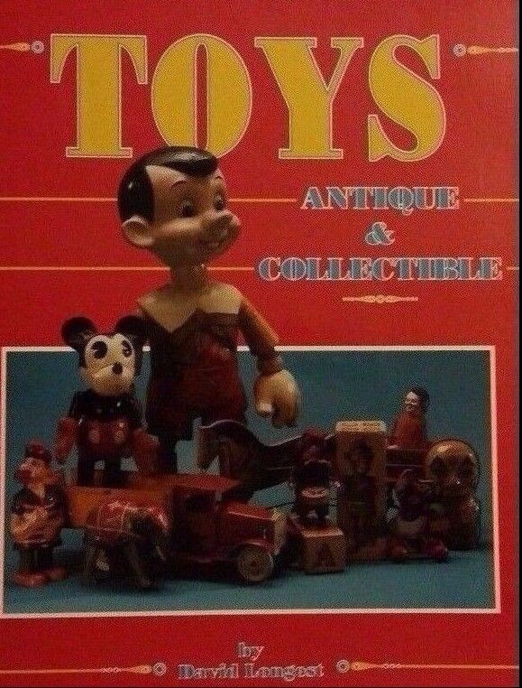 Antique toy value guide collector 39 s book collectible for Valuable antiques and collectibles
