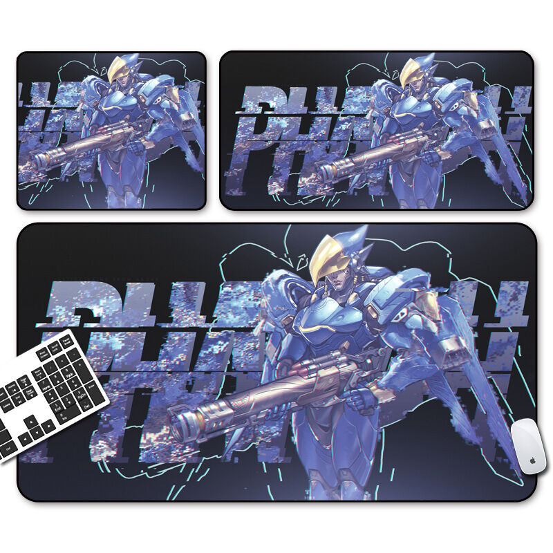 Soft Rubber Overwatch Gaming Pharah Mouse Pad Keyboard Pc