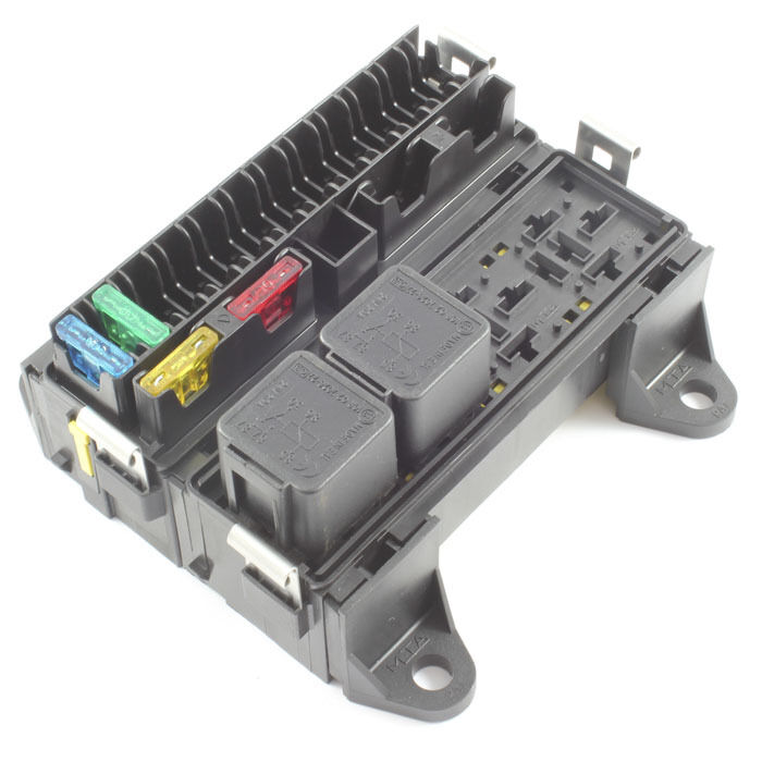 16 Way Blade Fuse Box  U0026 4 Way Relay Box Combo Holder