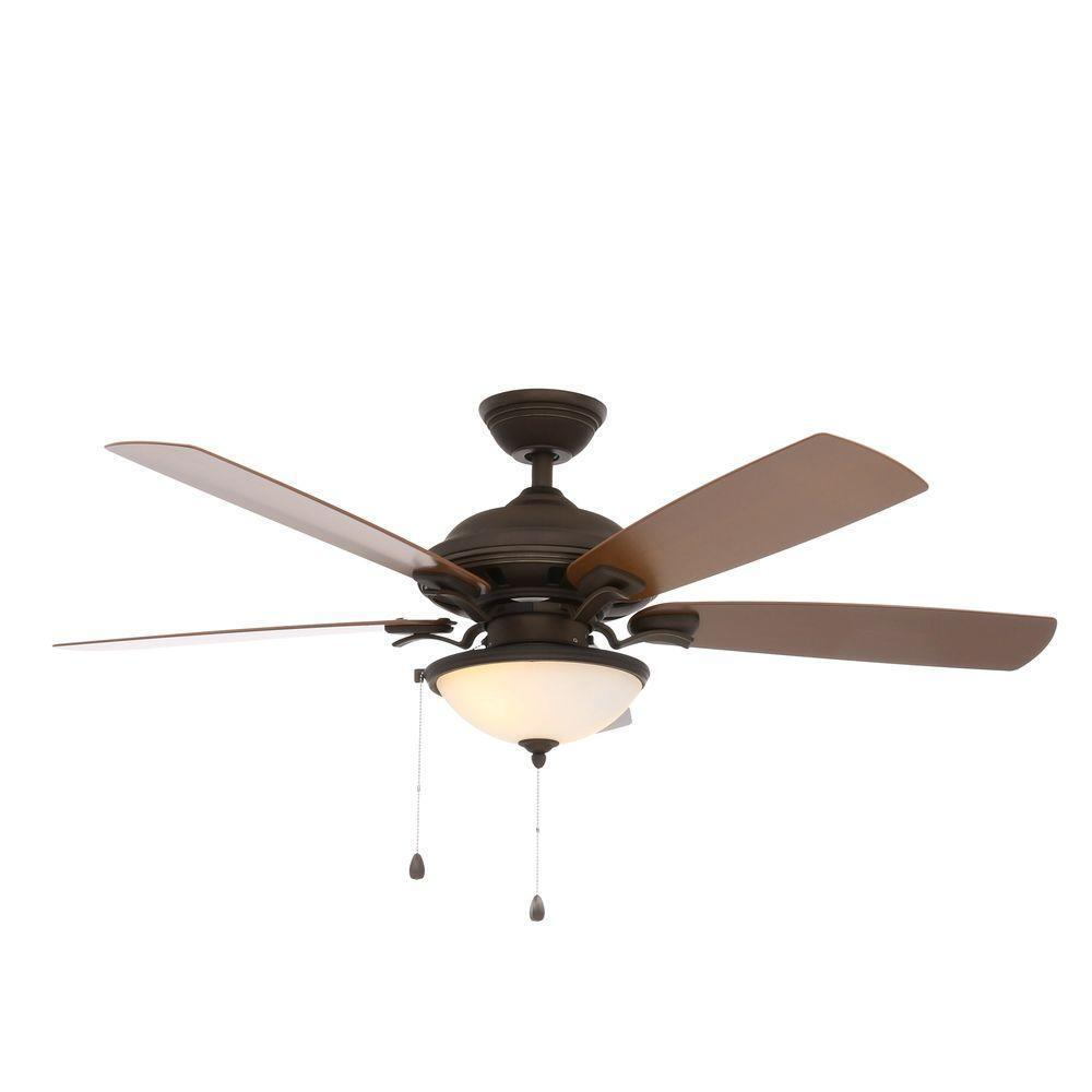 Parts To An Overhead Fan : North lake in indoor outdoor oil rubbed bronze ceiling