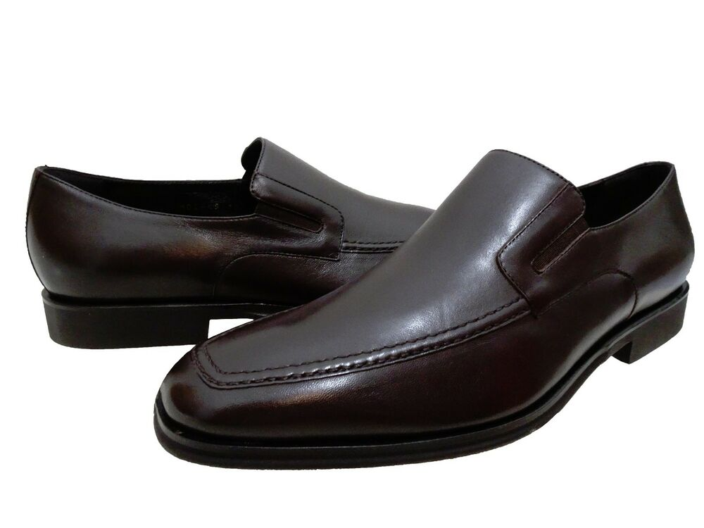 bruno magli mens raging slip on business casual loafers