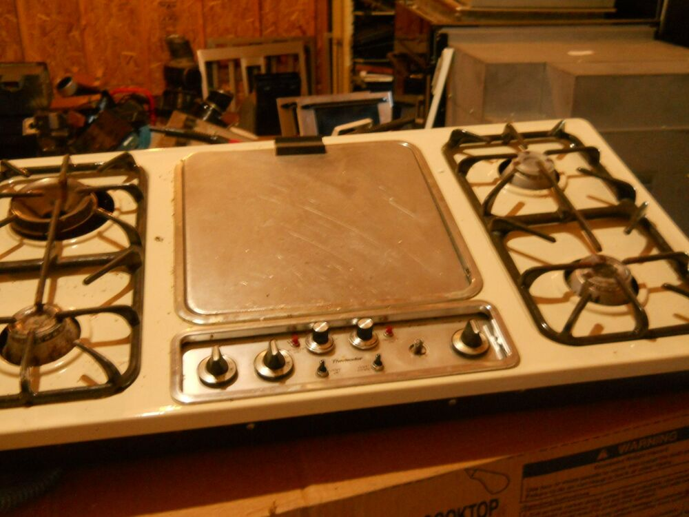 Thermador Cooktop Cook And Vent Gas Good Shape Ebay