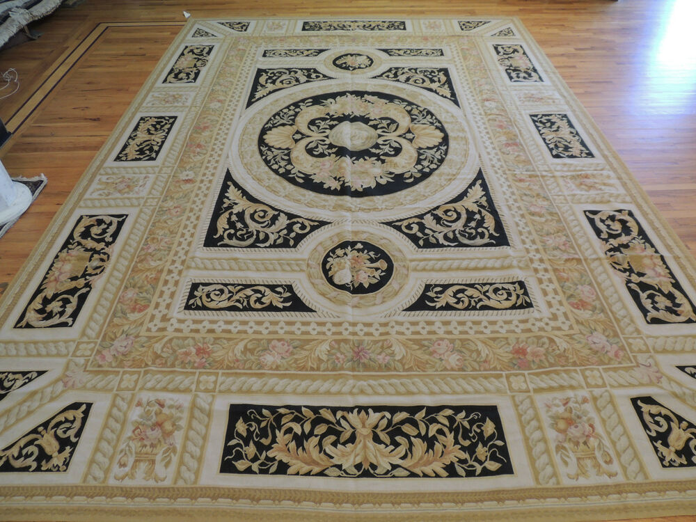 Area Rugs Traditional Black