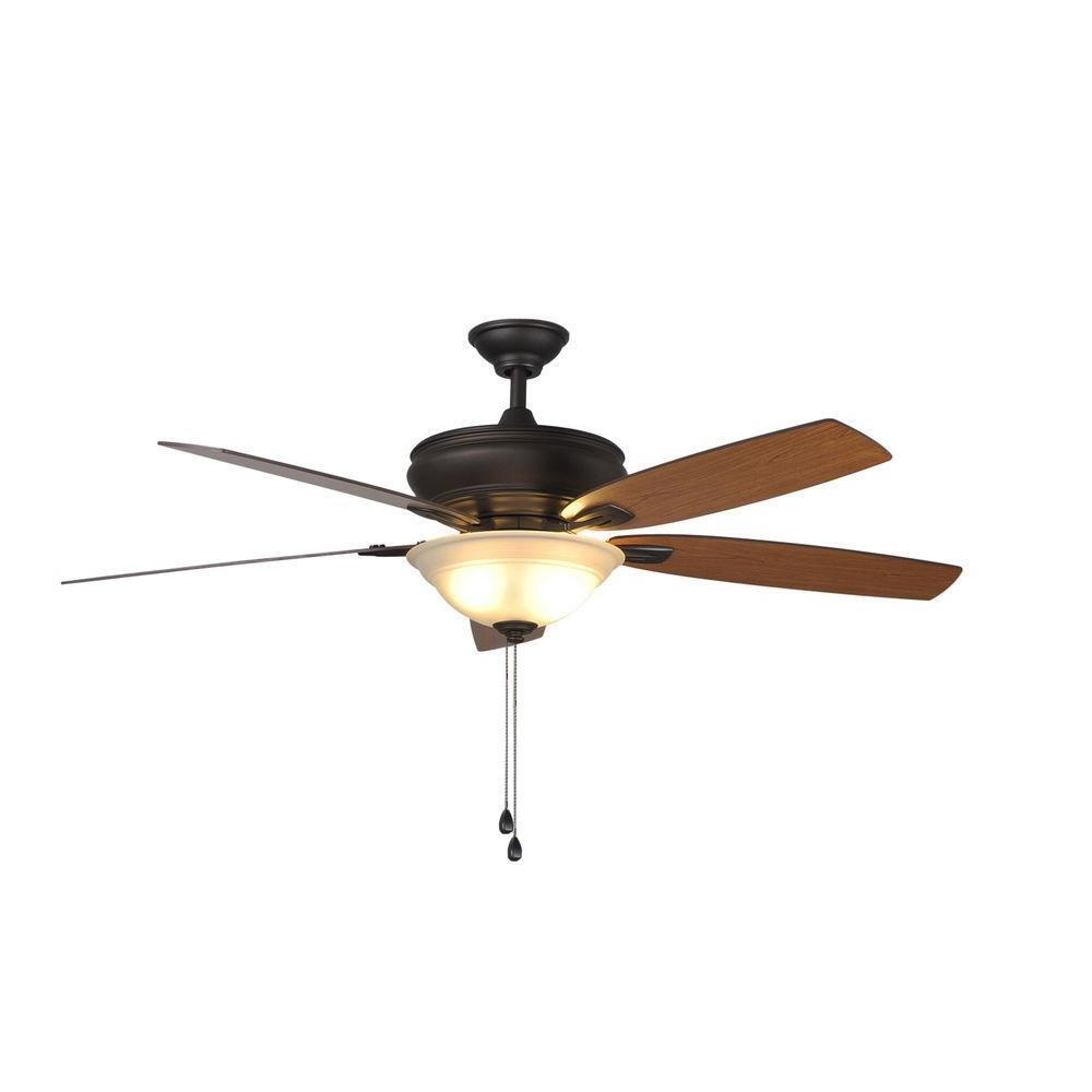 Hampton Bay Ceiling Fan Replacement Parts: Trafton 60 In. Oil-Rubbed Bronze Ceiling Fan Replacement