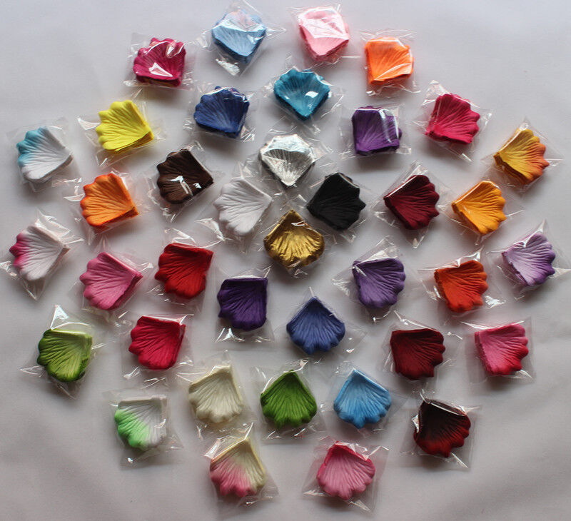flower petals for wedding 500pcs silk flower petals leaves bridal wedding 4198