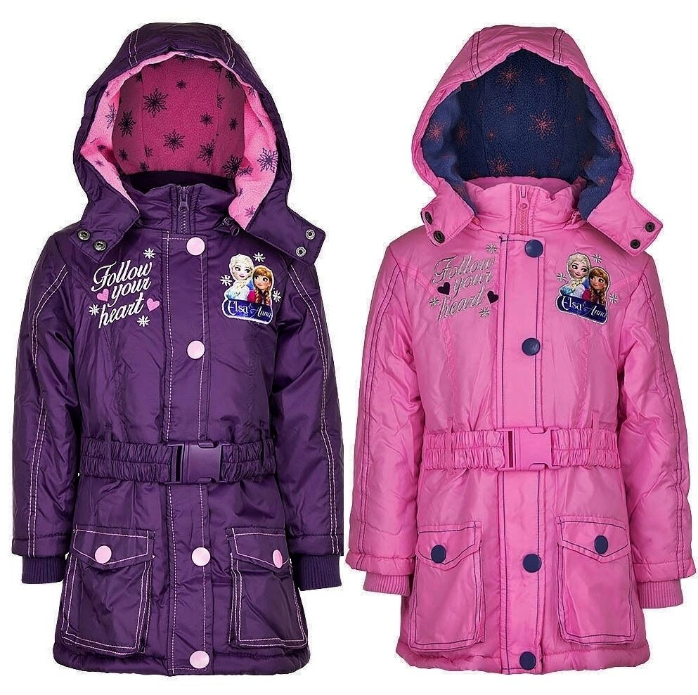 eisk nigin winterjacke jacke 104 110 116 128 m dchen kinderjacke parka frozen ebay. Black Bedroom Furniture Sets. Home Design Ideas