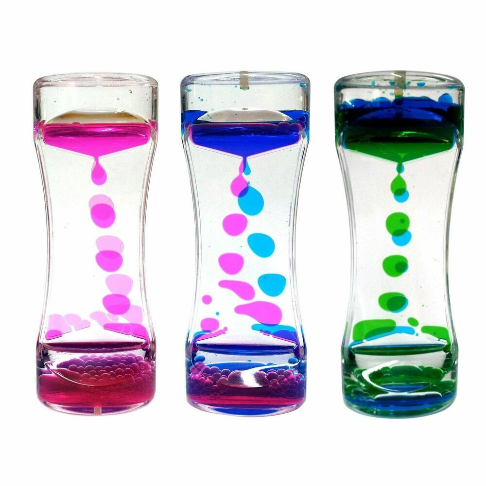 Sensory Toys Autism : Colourful liquid waterfall illusion calming sensory