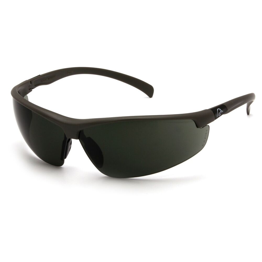 da543a57abb0 Details about Ducks Unlimited Shooting Eyewear Black Frame Smoke Green Lens
