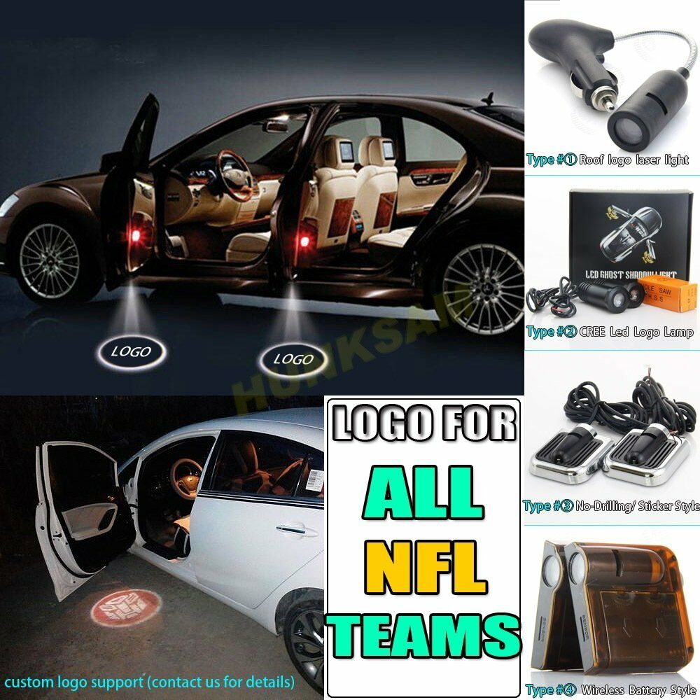 For NFL Team Logos 3D Show LED Projector Laser Shadow