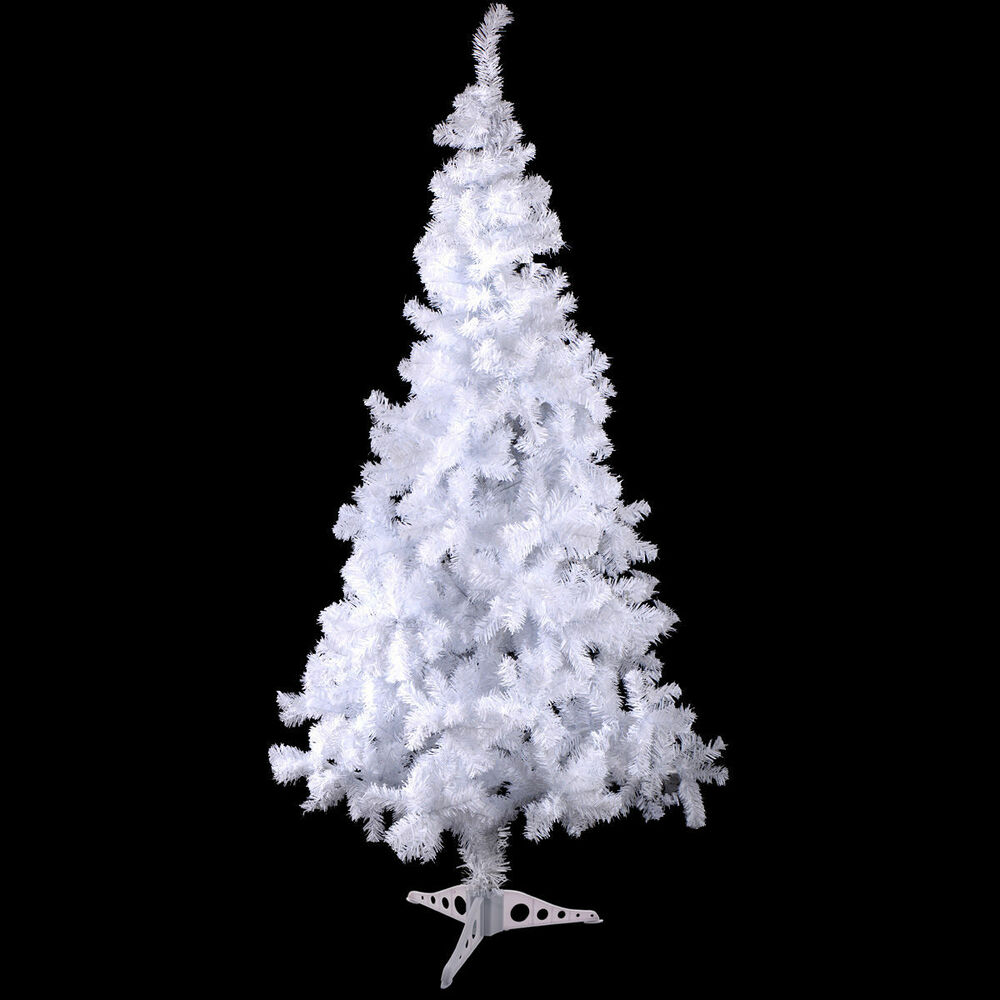 White 4 Foot Christmas Tree: White 4 Feet Tall Christmas Tree W/ Stand Holiday Season