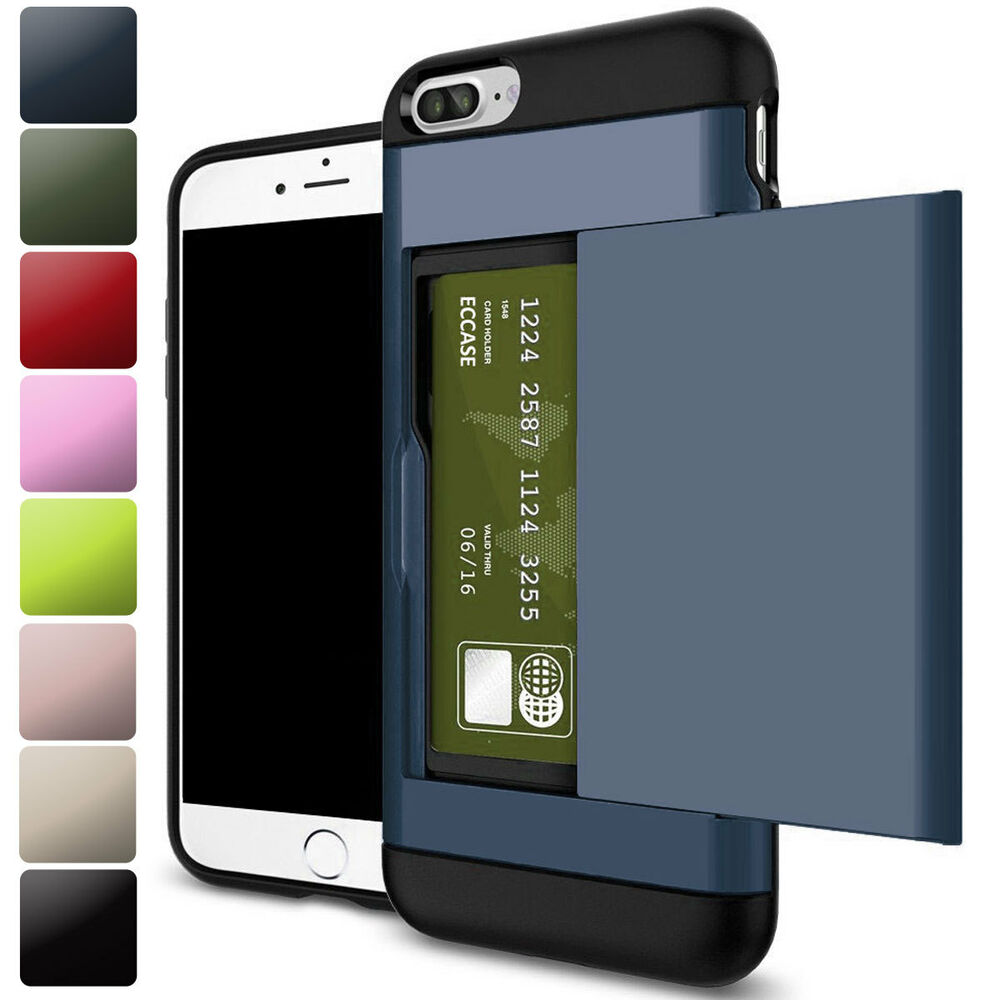 wallet for iphone 6 plus slide slim wallet credit card pocket 18167