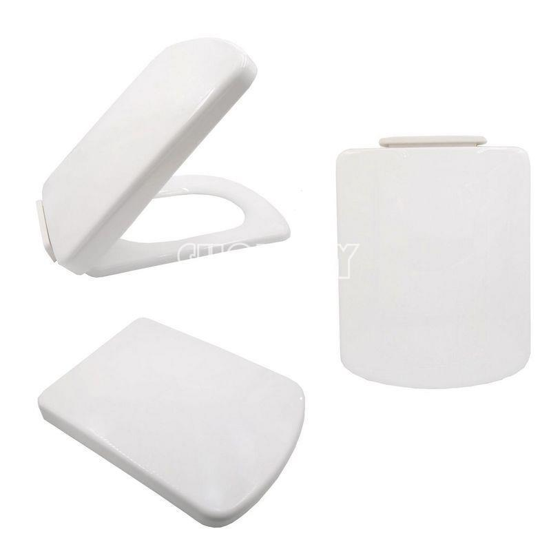 square soft close toilet seat bottom fixing easy clean. Black Bedroom Furniture Sets. Home Design Ideas
