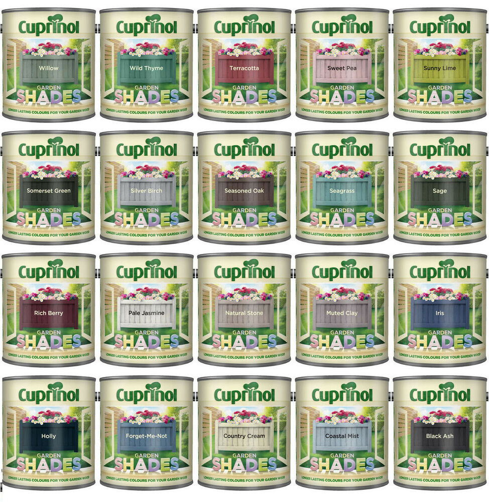 Cuprinol Garden Shades 1L Various Colours Available | eBay