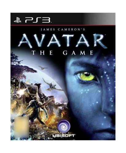 Avatar Games: Avatar The Game (Sony PlayStation 3, 2009) Very Good