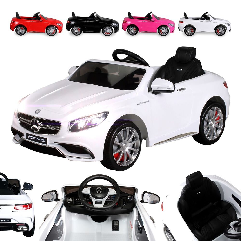 kinder elektro mercedes benz amg s63 kinderauto. Black Bedroom Furniture Sets. Home Design Ideas